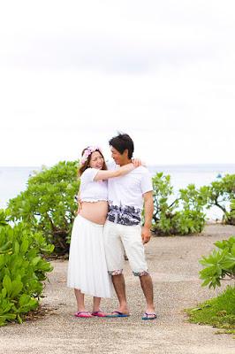 沖縄マタニティフォト出張撮影