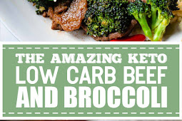 The Amazing Keto Low Carb Beef and Broccoli #keto #lowcarb