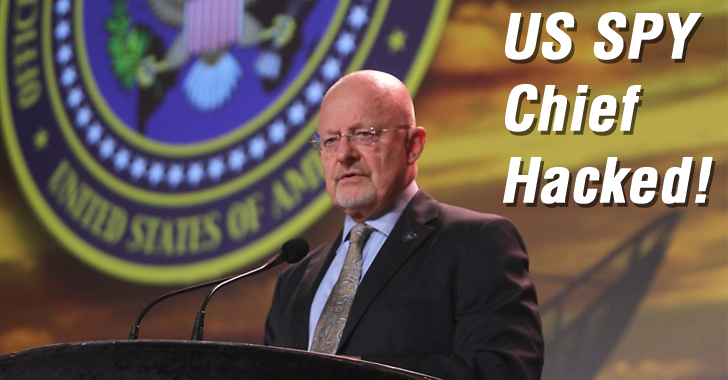 US Intelligence Chief Hacked by the Teen Who Hacked CIA Director