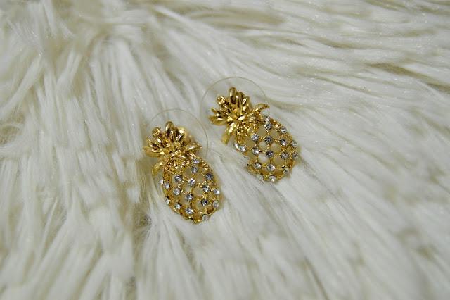 Gamiss Pineappel Earrings