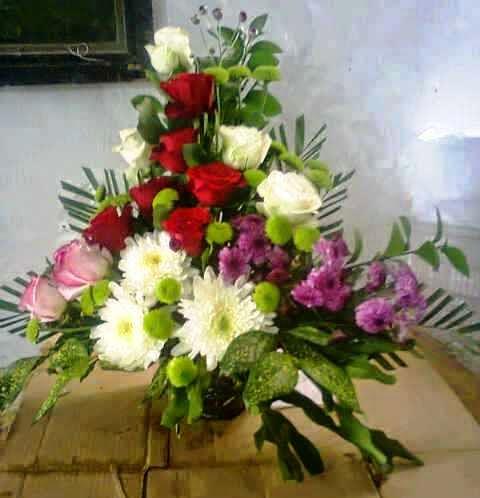 toko bunga lampung buket mawar