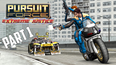 Download Pursuit Force Extreme Justice ISO/CSO Save Data PSP PPSSPP Ukuran Kecil