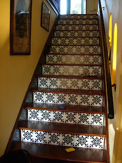 Brandy Spears Floral Designer Staircase Redo In The