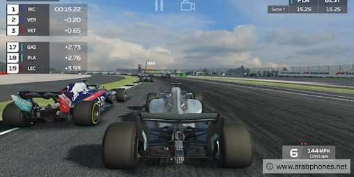 تحميل لعبة f1 mobile racing مهكرة للاندرويد آخر اصدار 2020