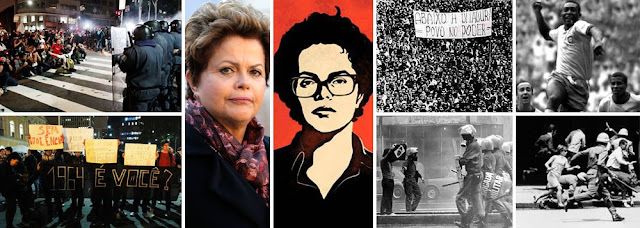 """Dilma vive seu momento """"Pra Frente, Brasil"""""""