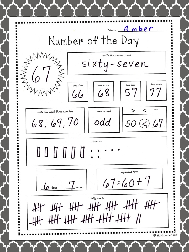 School Is a Happy Place: Number of the Day Mid Winter ...