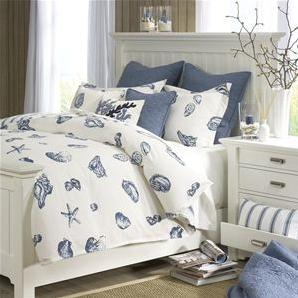 Coastal Style Bedding Uk | Room Ornament White Coastal Themed Bedding