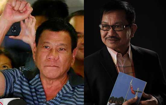 DUTERTE: 'Let us begin the healing now' by Manny Piñol