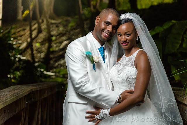 mariage Guadeloupe portrait du couple