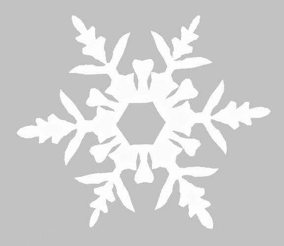 Belznickle Blogspot : 12 Six-Sided Snowflake Templates