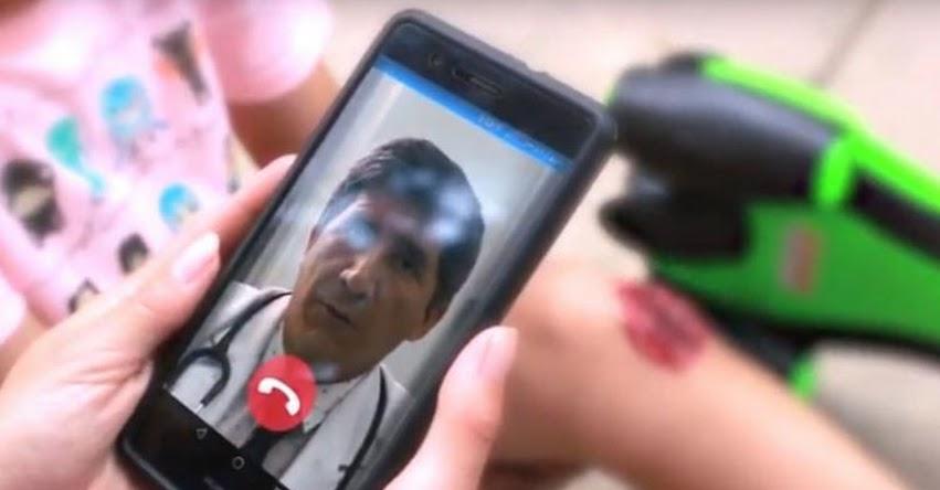 UNMSM: Estudiantes de la Universidad San Marcos crean aplicativo para atenciones médicas rápidas