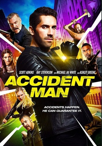 Accident Man [2018] [DVDR] [NTSC] [Latino]