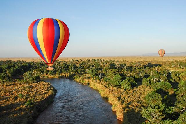 Tanzania Balloon Ride