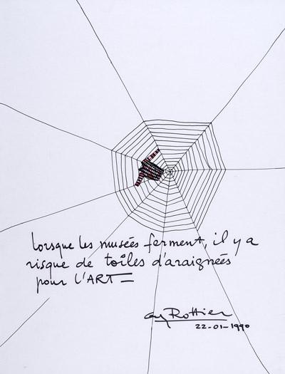 Projet, Musée de Nice, Guy Rottier