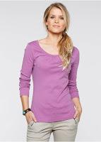 Bluză cu un model basic