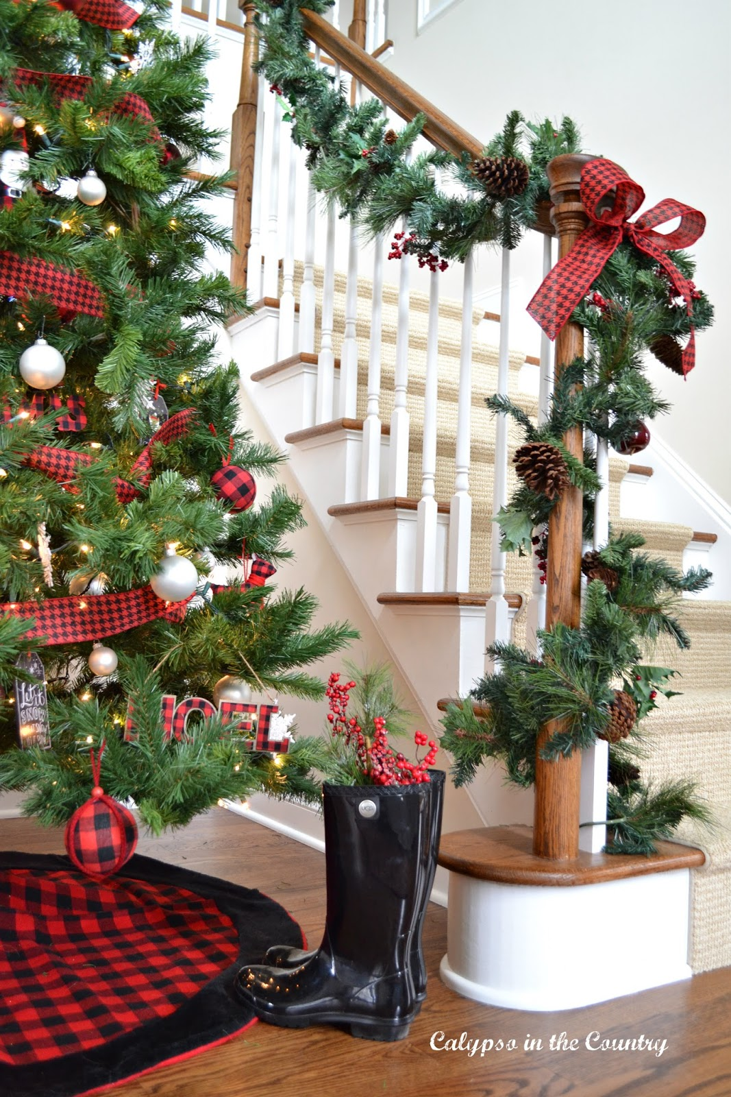 Christmas House Tour and 10 Most Popular Posts of the Year