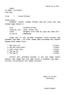 Surat Permohonan Pindah Kerja PNS