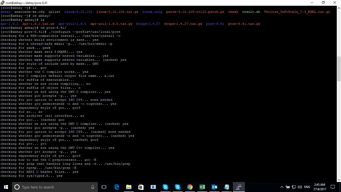 Install Apache from source code - pcfunda com