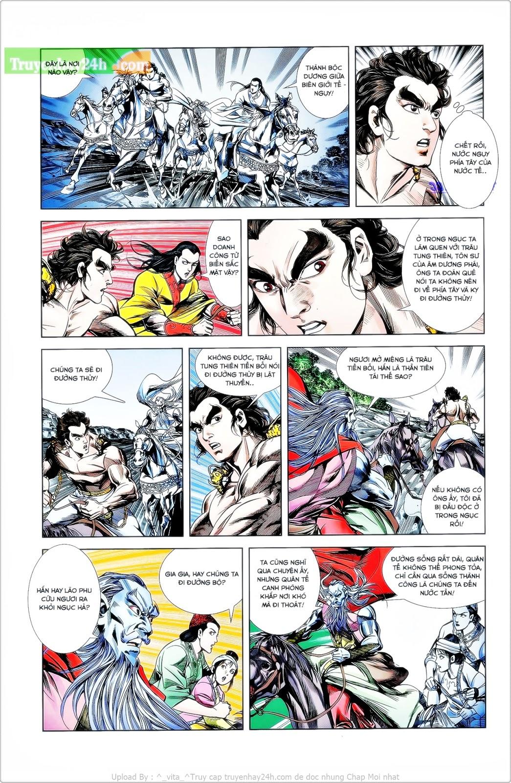 Tần Vương Doanh Chính chapter 26 trang 27