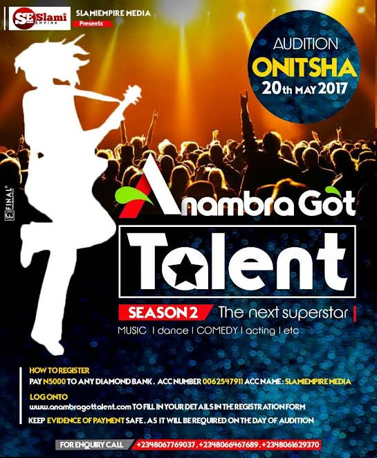 anambra auditions