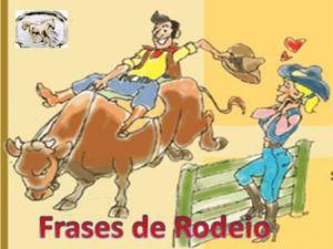 Frases De Rodeio O Vale Do Ribeira