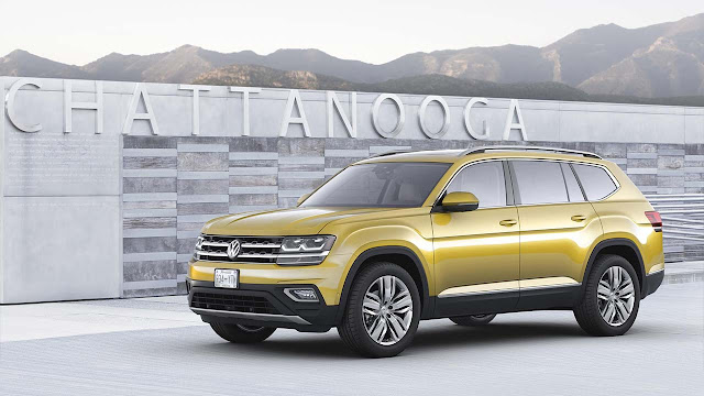 The Volkswagen Atlas – all-new seven-seater SUV for America