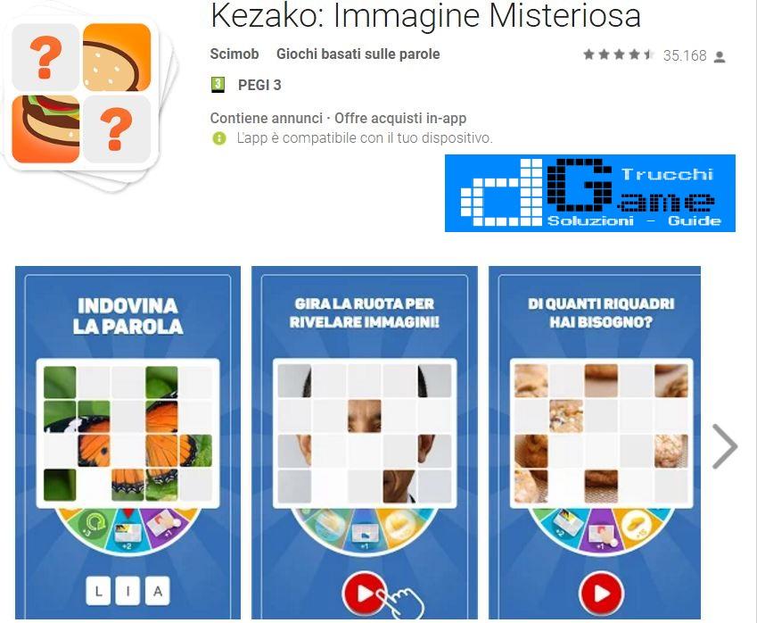 Soluzioni Kezako: Immagine Misteriosa