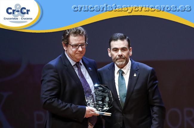 ► Princess Cruises, galardonada con el Premio Excellence a la mejor naviera Premium por tercer año consecutivo