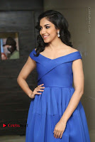 Actress Ritu Varma Pos in Blue Short Dress at Keshava Telugu Movie Audio Launch .COM 0061.jpg