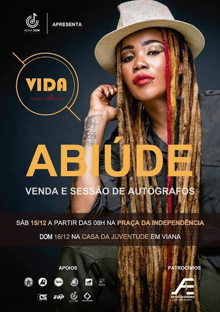 """Abiúde tem o prazer de anunciar a venda e sessão de autógrafos do álbum """"Vida"""""""