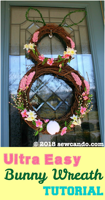 photo SewCanDoBunnyvinewreath
