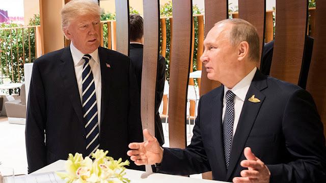 """Trump confirma que charló con Putin en la cena del G20 y califica de """"enferma"""" a la prensa de EE.UU."""