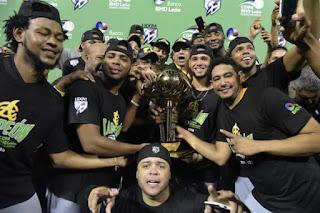 Las Aguilas Cibaeñas campeonas