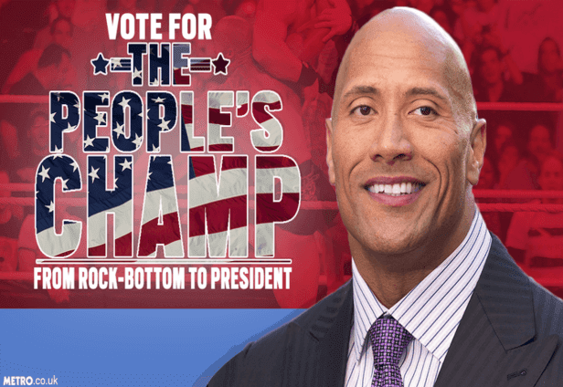 Dwayne Johnson USA Presiden