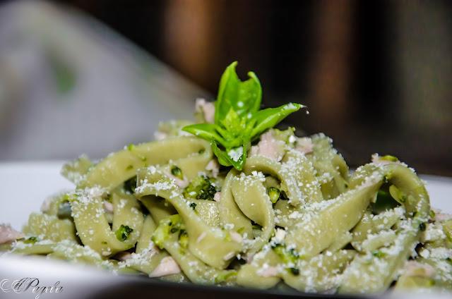 Телиателе-със-спанак-и-риба-тон-Tagliateli-with-spinach-and-tuna