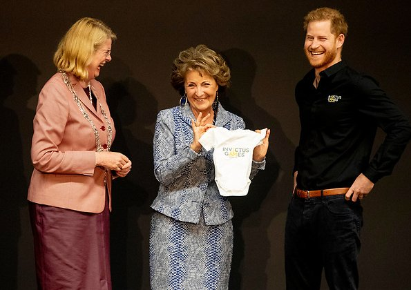 The Duke Of Sussex Attended The Launch Of Invictus Games