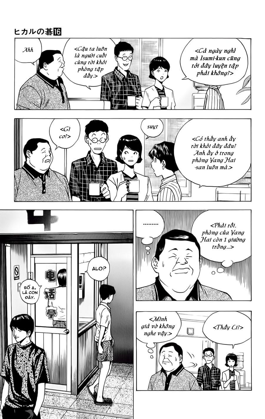 Hikaru No Go hikaru no go chap 135 trang 22