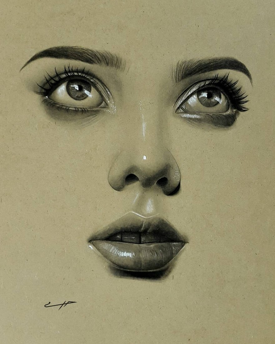 06-Husam-Waleed-Minimalist-Realistic-and-Stylized-Charcoal-Portraits-www-designstack-co