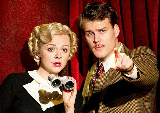 Promo from the 39 steps starring Catherine Bailey