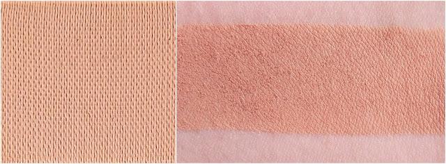 TOO FACED eyeshadow swatche :Salted caramel