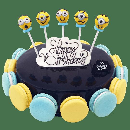 Kue ulang tahun minions