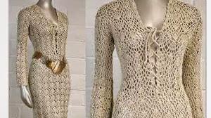 Vestido dorado con aires vintage