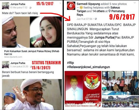 Relawan BARAJP Ini Sumpahi Habib Rizieq Mati, Namun yang Terjadi Malah... Jangan Remehkan Mubahalah!