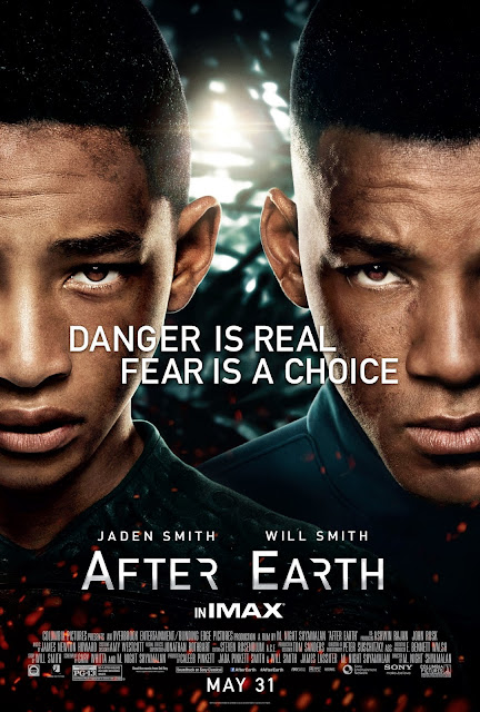 After Earth One Sheet | A Constantly Racing Mind