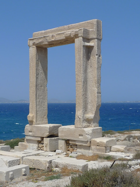 Co zobaczyć na Naxos cz. II - Portara/What to see on Naxos (part 2) - Portara