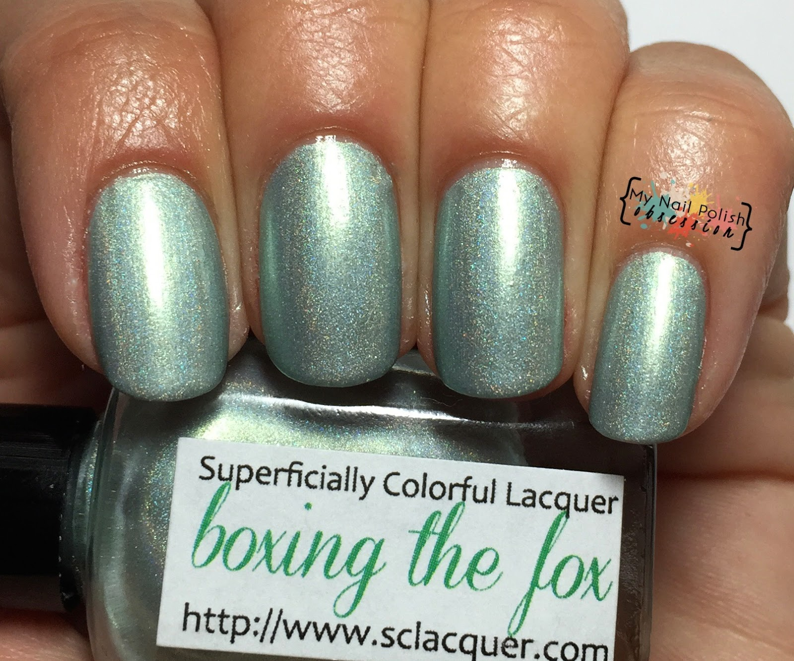 Superficially Colorful Lacquer Boxing the Fox