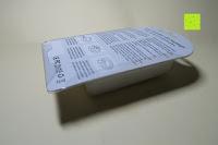 Verpackung hinten: Bonlux Bewegung aktiviert LED-WC-Nachtlicht 16 Farben ändern Batteriebetriebene automatische Sensor-LED-Nachtlicht für Badezimmer Waschraum -WC-Schüssel Sitz Lampe [Energieklasse A+]