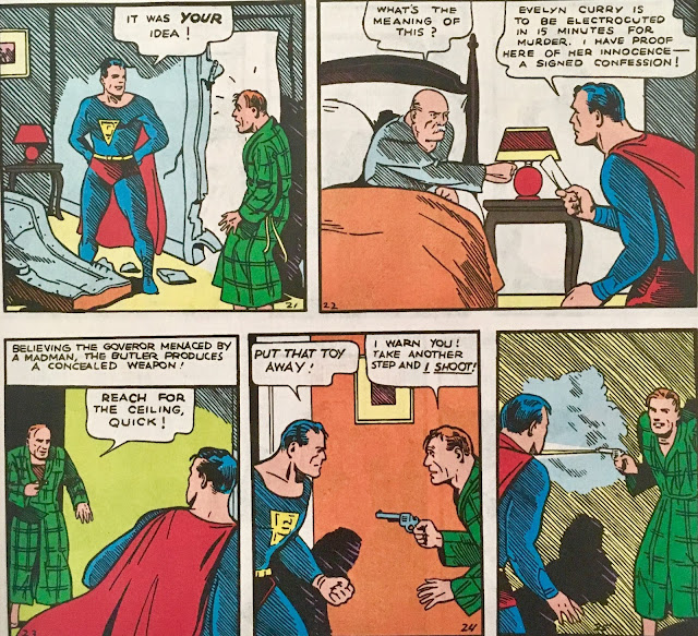 Chris is on Infinite Earths: Action Comics #1 (1938)
