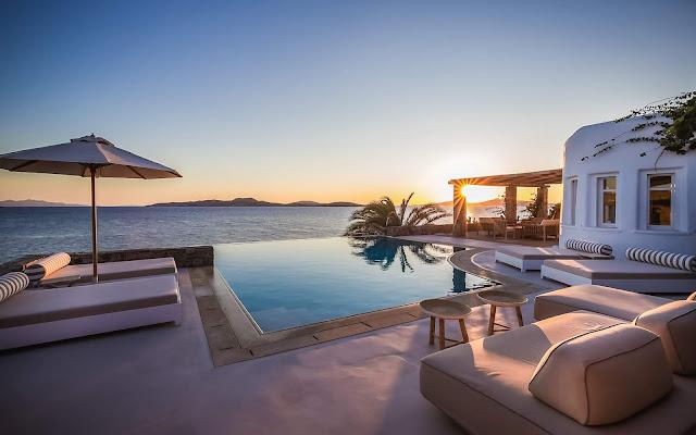 Villa Kymotho Mykonos, Greece