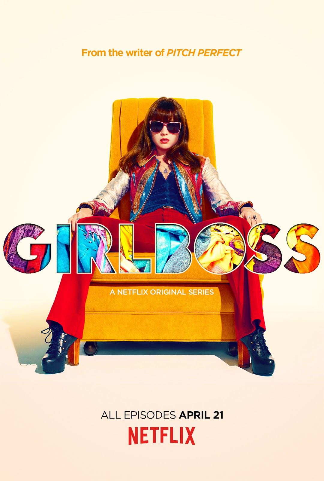 The poster for the Netflix series Girlboss
